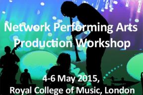 The 5th European Network Performing Arts Production workshop (4-6 May 2015) - Day 1