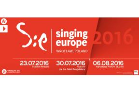 The 'Singing Europe' project 2016 -  European Capital of Culture Wrocław 2016 (Poland)