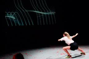 Interactive Dance Performance You! In and Out Rendering