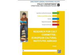 """Cultural Institutes abroad"", a study for the EU Parliament Culture Committee"