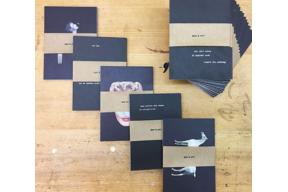 Open Call : Fund Raising Ein Buch in Postkartenform