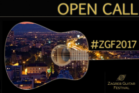Open call for classical guitar competition at Zagreb Guitar Festival
