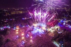 Sziget Festival Austria 2017 in Budapest