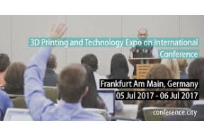 3D Printing and Technology Expo an International Conference