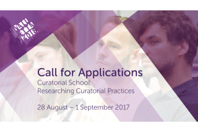 Call for Applications: Curatorial School