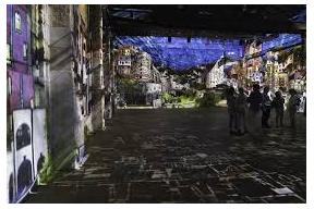 "Video installation ""Hundertwasser Experience"""