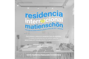 International Matienschon Residency 2017-18