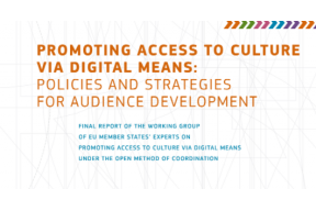 Promoting access to culture via digital means