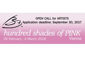 Open Call for artists: Hundred shades of pink