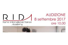Audition Rome International Dance Academy Contemporary