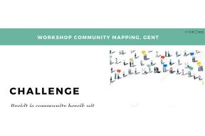 Community Mapping Workshop op basis van inzichten vanuit crowdfunding