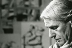 Did work by artists like de Kooning and Monet decline in old age?