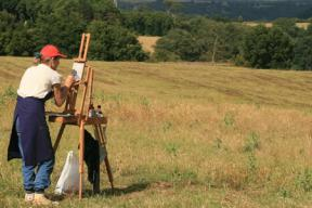 Plein air landscape painting workshop in Italy - 01/10-08/10