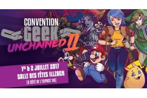 Aide au financement de la Convention GEEK UNCHAINED II