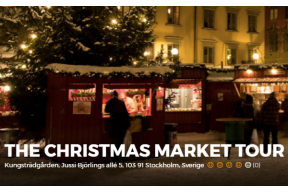 Stockholm: THE CHRISTMAS MARKET TOUR