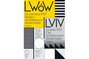 Lviv on the 24th June 1937.City, architecture, modernism