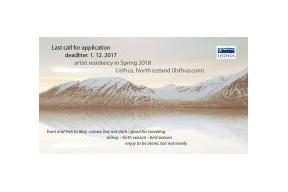 Open call for spring application in Iceland