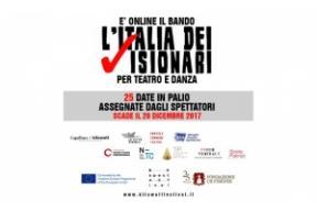 Bando L'Italia dei visionari per teatro e danza - 3^ ed.