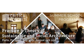 Summer School - Practice & Theory of Sustainable & Social Architecture