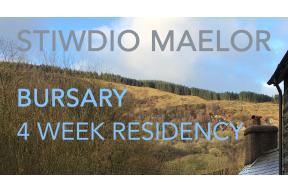Bursary for 4 week residency in North Wales