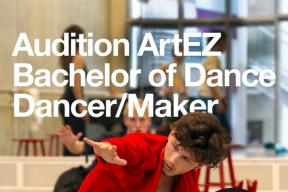 Audition Artez Schol of Dance Italy