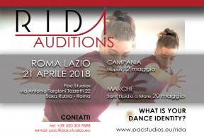 Audition for the Rome International Dance Academy