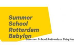 Willem de Kooning Academy Summer School 2018