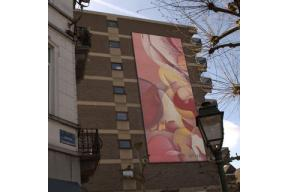 Bottazzi's geant painting nominated for Visit Brussels Awards