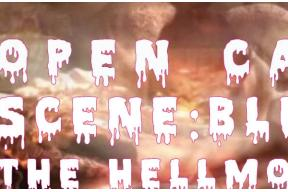 OPEN CALL – Scene:Bluss – The Hellmouth Edition