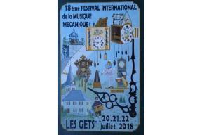 Festival international de la musique mécanique 21 et 22 juillet
