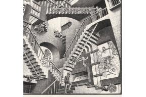 Escher in Lisbon, through 27 May 2018