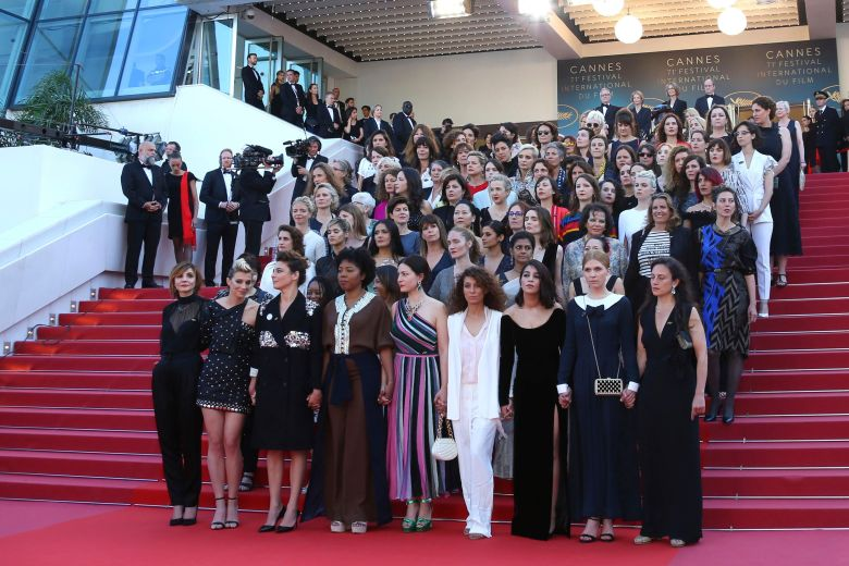 MeToo movement reaches Cannes as stars protest on red carpet.