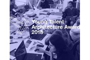 Award ceremony of young talent architecture awards 2018