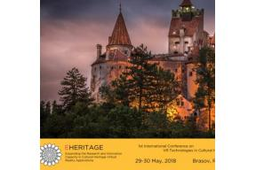 1st International Conference on VR Technologies in Cultural Heritage