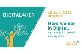 Digital4Her; Brussels (Belgium), 19 June 2018