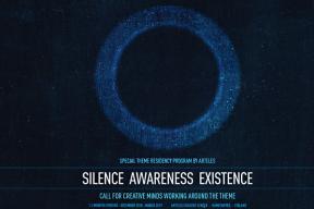 Arteles: Silence Awareness Existence
