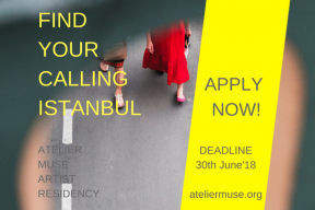 OPEN CALL FOR FIND YOUR CALLING ISTANBUL 2018