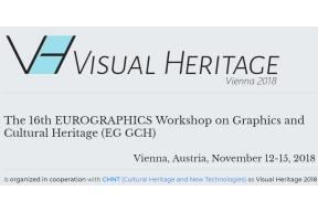 The 16th EUROGRAPHICS Workshop on Graphics and Cultural Heritage