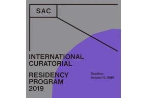 Open Call :: SAC International Curatorial Residency Program 2019