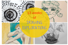New Online Drawing Class: 12 weeks of Drawing Explorations