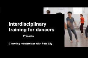 CLOWNING MASTERCLASS FOR DANCERS