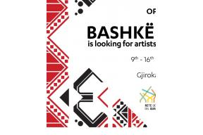 OPEN CALL for BASHKË ART CAMP 2018