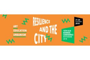 "15th ELIA Biennial ""Resilience and the City: Art, Education, Urbanism"""