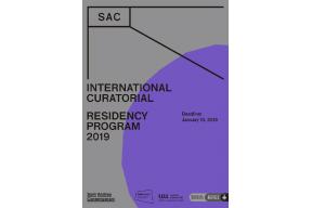 Open Call :: SAC International Curatorial Residency Program 2019