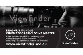 """VIEWFINDER"" CINEMATOGRAPHY ERASMUS MUNDUS JOINT MASTER DEGREE"