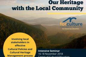 Managing our Heritage with the Local Community