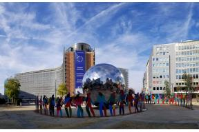Enlightened Universe by Cristobal Gabarron in Brussels