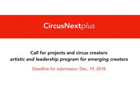 CircusNextplus > Call for projects and circus creators