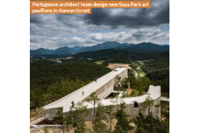 Portuguese architect team design new Saya Park art pavilions