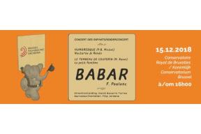 Brussels Philharmonic Orchestra's concert for children : Babar